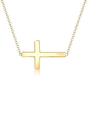 Elli Collierkettchen »Kreuz Faith 925 Sterling Silber Kommunion« kaufen