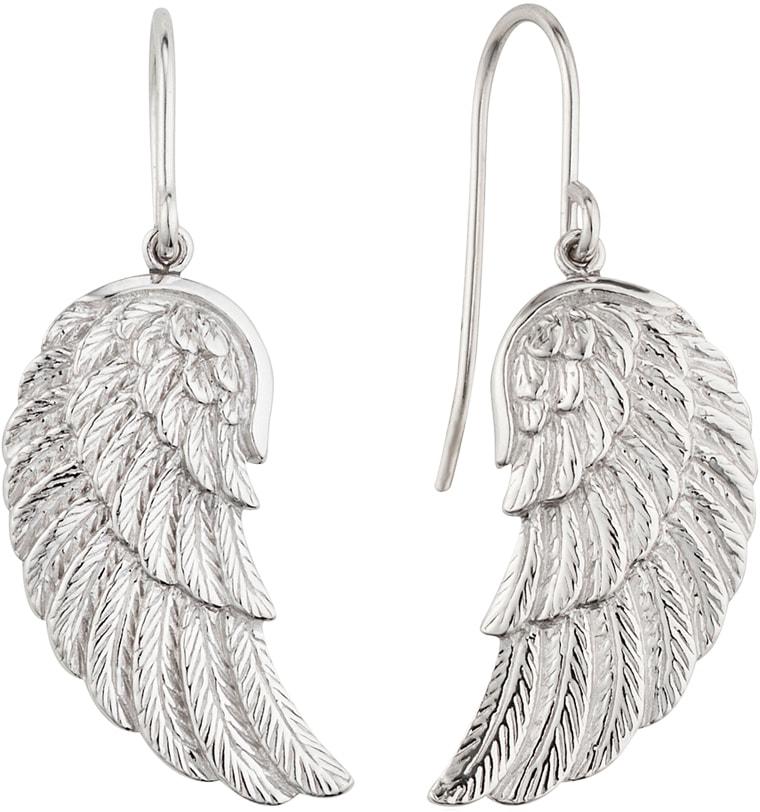 Engelsrufer Paar Ohrhaken Where the angels fly OHRHÄNGER FLÜGEL SILBER ERE-WING | Schmuck > Ohrschmuck & Ohrringe > Ohrhaken | Engelsrufer