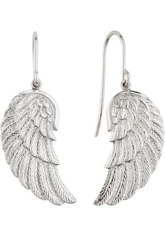 Engelsrufer Paar Ohrhaken »Where the angels fly, OHRHÄNGER FLÜGEL SILBER, ERE - WING« kaufen