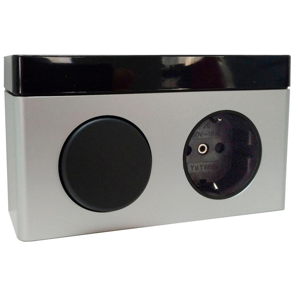 OPTIFIT Spiegelschrank »Doha«, mit LED Beleuchtung und Soft-Close-Funktion
