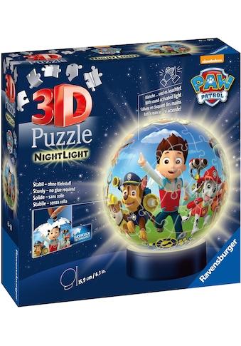 Ravensburger Puzzleball »Nachtlicht Paw Patrol«, mit Leuchtmodul inkl. LEDs; Made in Europe, FSC® - schützt Wald - weltweit kaufen