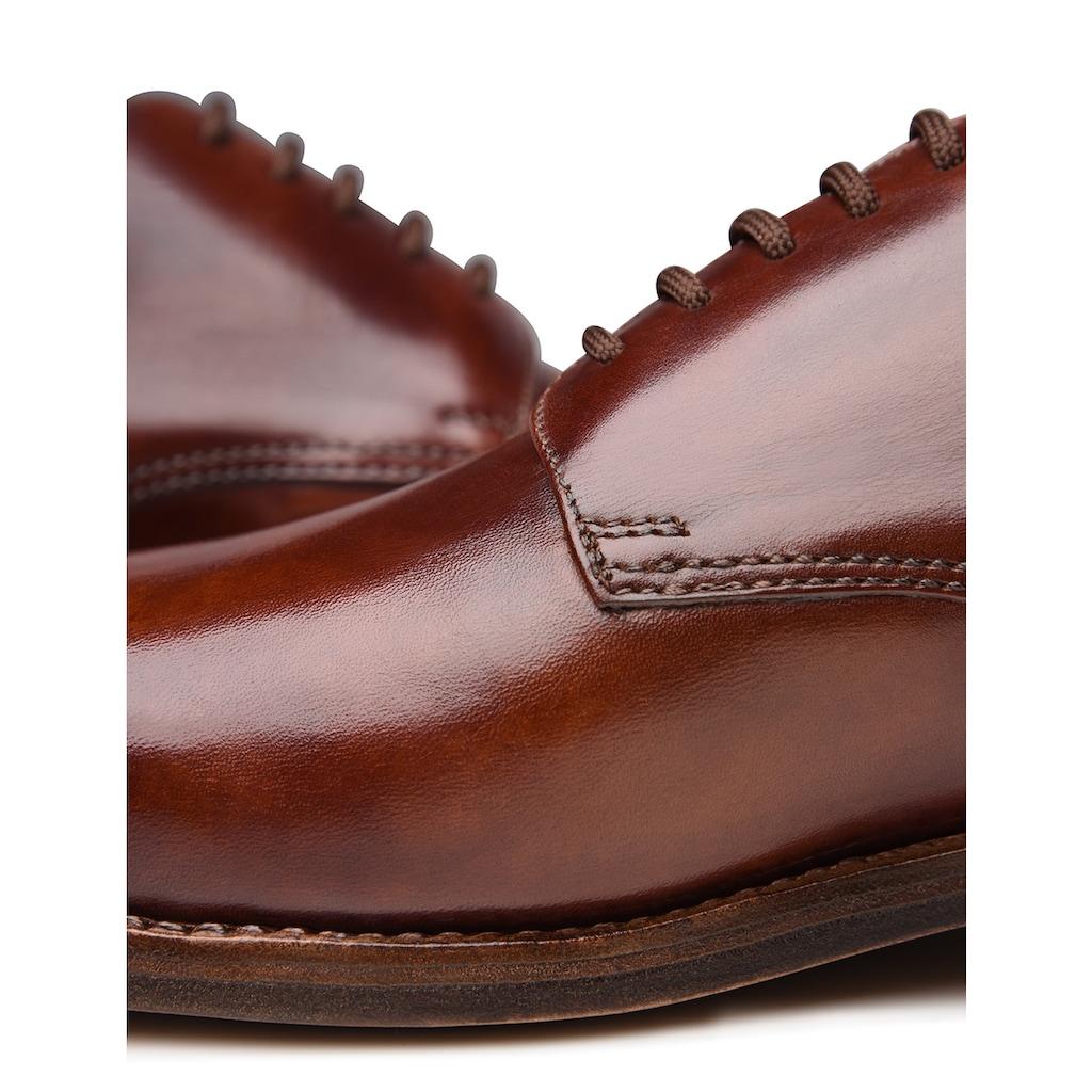 Heinrich Dinkelacker Schnürschuh »Luzern Plain TC«, Wahre Schuhmacherkunst aus Budapest