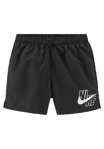 Nike Badeshorts, mit Markenlogo am Bein kaufen