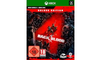 Warner Games Spiel »Back 4 Blood Deluxe Edition«, Xbox Series X-Xbox One kaufen