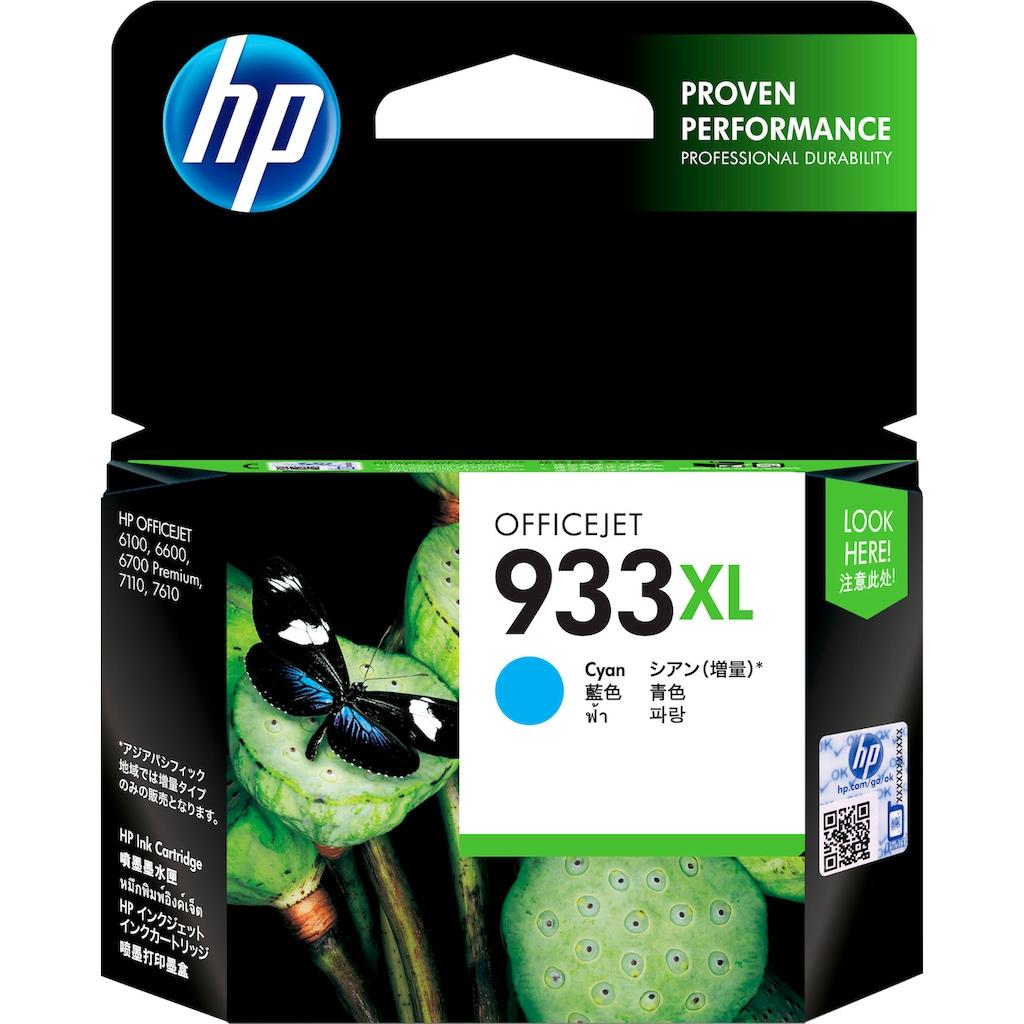 HP Tintenpatrone »hp 933XL Original Cyan«, (1 St.)