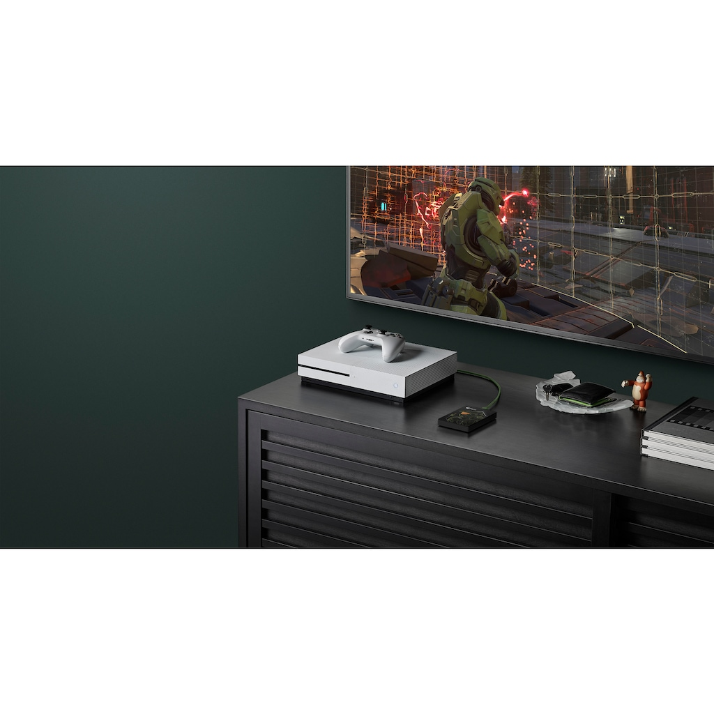Seagate externe Gaming-Festplatte »Game Drive for Xbox 5TB Halo Master Chief Limited Edition«, Inklusive 2 Jahre Rescue Data Recovery Services