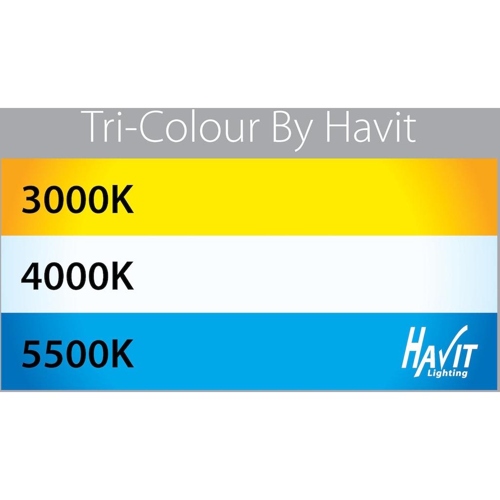 Havit Lighting LED Außen-Stehlampe »HIGHLITE«, 1 St., Warmweiß