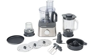 KENWOOD Kompakt - Küchenmaschine Multipro Compact+ FDM313SS mit integrierter Waage, 800 Watt kaufen