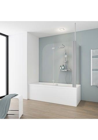Schulte Badewannenaufsatz »2-teilig«, BxHxT: 114,5 x 140 x 80 cm kaufen