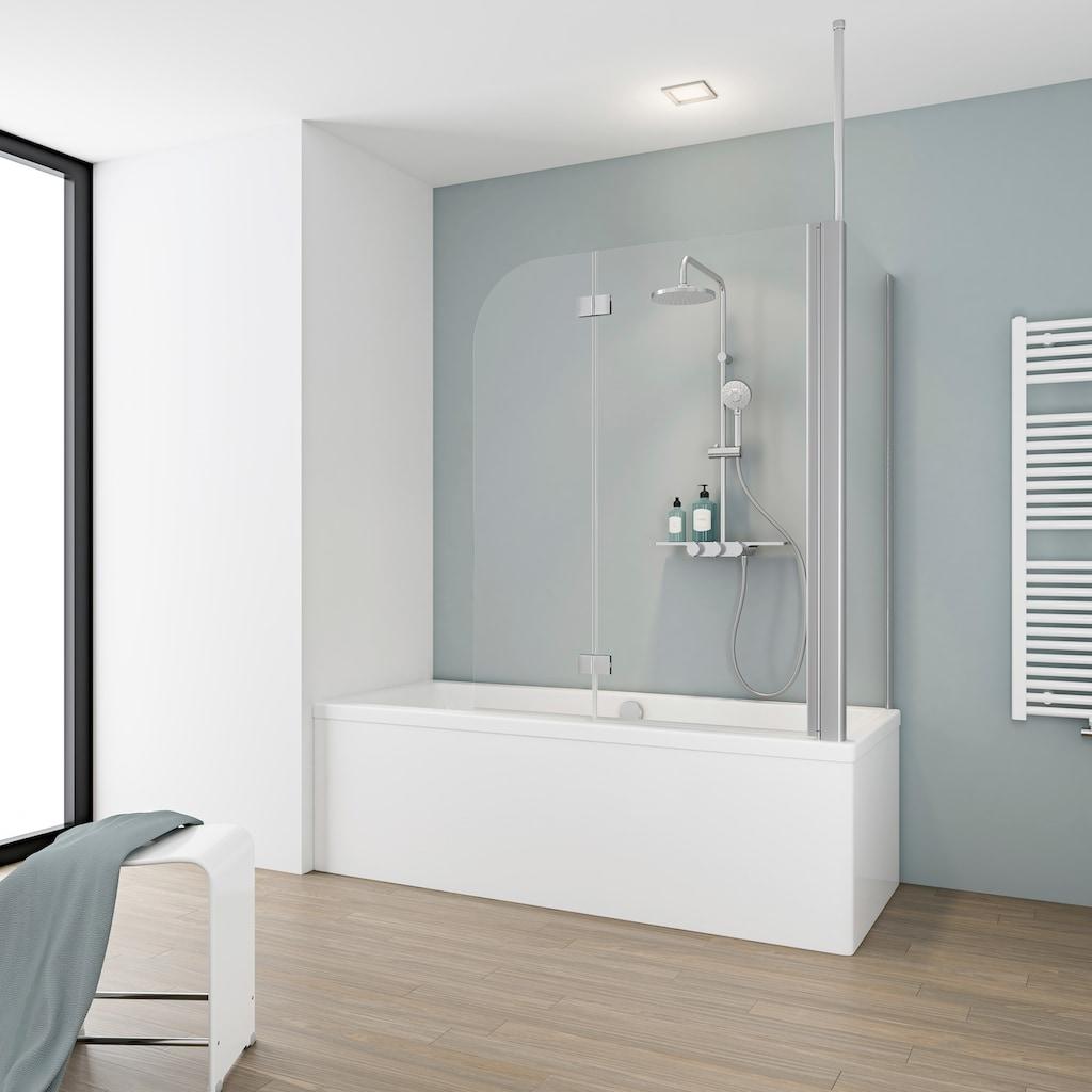 Schulte Badewannenaufsatz »2-teilig«, BxHxT: 114,5 x 140 x 80 cm
