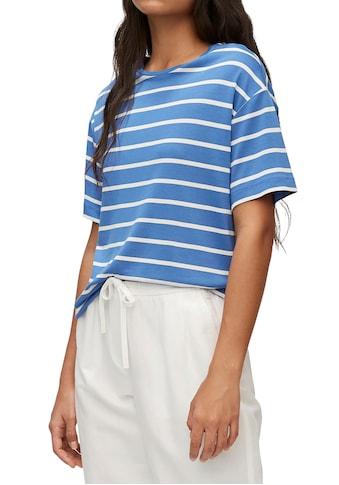 Marc O'Polo DENIM Kurzarmshirt, in lässigem Schnitt kaufen