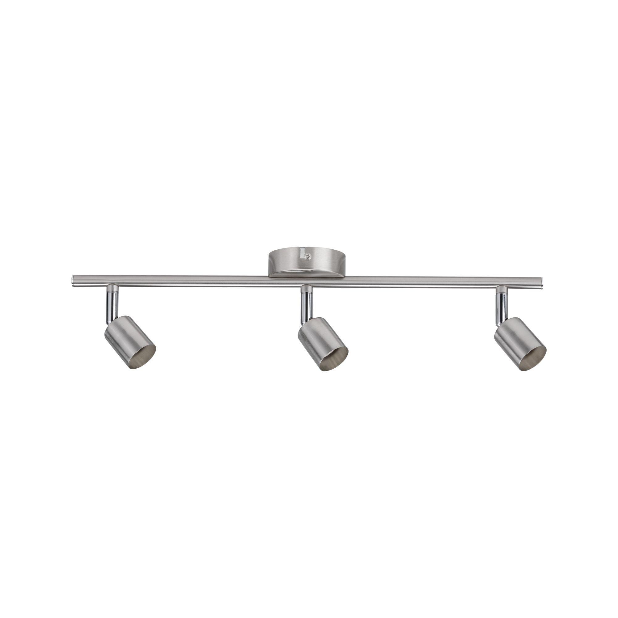 Paulmann LED Deckenleuchte 3er-Spot Carolina GU10, max 10W Nickel matt, GU10