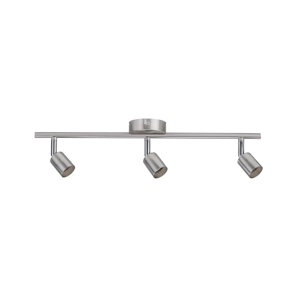 Paulmann LED Deckenleuchte »3er-Spot Carolina GU10, max 10W Nickel matt«, GU10