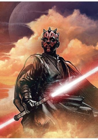 Komar Fototapete »Star Wars Classic Darth Maul«, futuristisch-mehrfarbig-Weltall kaufen