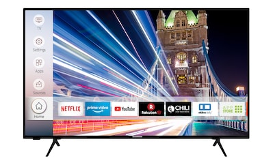 Techwood U50T52D LED - Fernseher (126 cm / (50 Zoll), 4K Ultra HD, Smart - TV kaufen