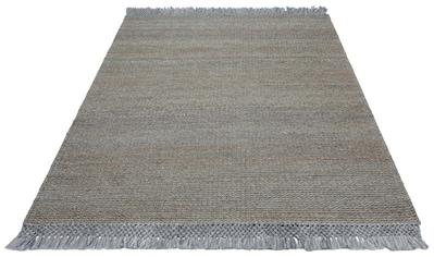 Teppich, »Amba«, Home affaire, rechteckig, Höhe 6 mm, handgewebt kaufen