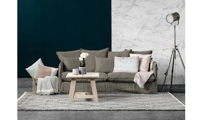 furninova 2,5-Sitzer »Copenhagen«, inklusive 4 Rücken- und 3 Zierkissen, Kissen mit... kaufen