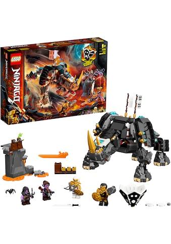 LEGO® Konstruktionsspielsteine »Zanes Mino-Monster (71719), LEGO® NINJAGO®«, (616 St.), auch als Brettspiel verwendbar, Made in Europe kaufen