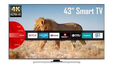 """JVC LED-Fernseher »LT-43VU8055«, 108 cm/43 """", 4K Ultra HD, Smart-TV kaufen"""