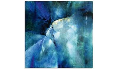 Artland Glasbild »Komposition in blau«, Gegenstandslos, (1 St.) kaufen