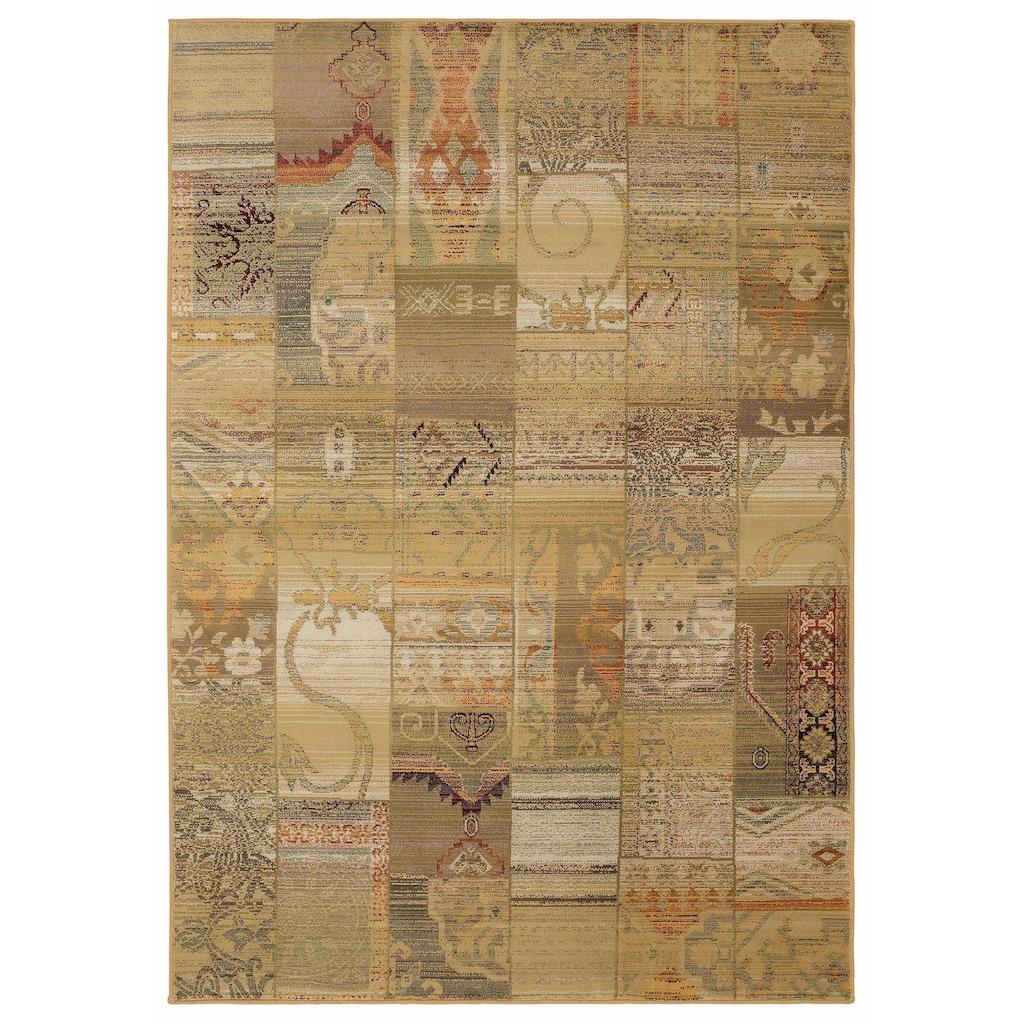 THEKO Teppich »Gabiro 5504«, rechteckig, 12 mm Höhe, Melange-Effekt, Wohnzimmer