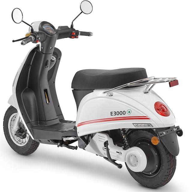 Luxxon E-Mofaroller »E 3000«, 3000 Watt, 25 km/h