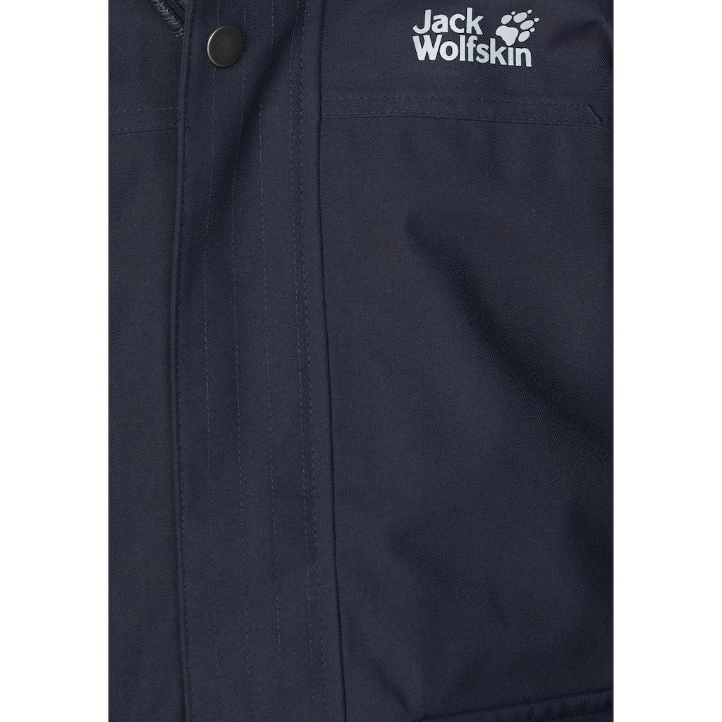 Jack Wolfskin 3-in-1-Funktionsparka »ELK ISLAND 3IN1«, Inkl. Fleecejacke