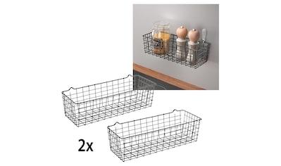 Metaltex Allzweckkorb, (2 St.), flexibel einsetzbar kaufen