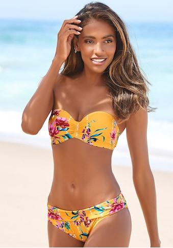 Sunseeker Bügel-Bandeau-Bikini-Top »Modern«, mit Blumenprint kaufen