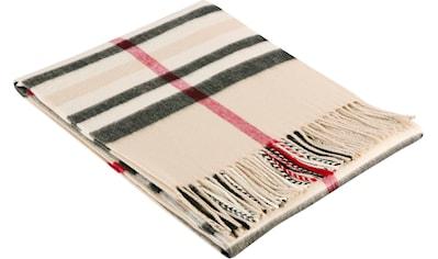 BIEDERLACK Plaid »Classy«, klassisches Karo-Design kaufen