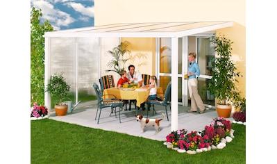 Beckmann Terrassendach »Exklusiv 3«, BxT: 508x271 cm, mit Regenrinne kaufen