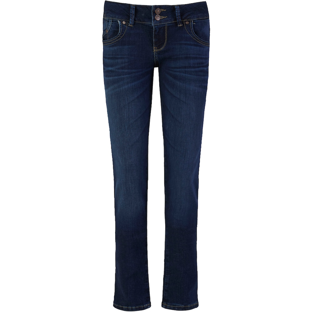LTB Slim-fit-Jeans »MOLLY«, mit doppelter Knopfleiste & Stretch