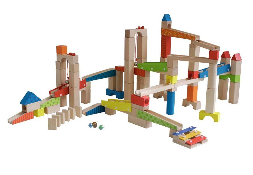 roba Kugelbahn-Bausatz Kugelbahn (100tlg.) bunt Kinder Ab 3-5 Jahren Altersempfehlung