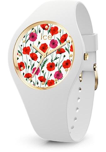 ice-watch Quarzuhr »ICE flower - White poppy - Small - 3H, 16657« kaufen