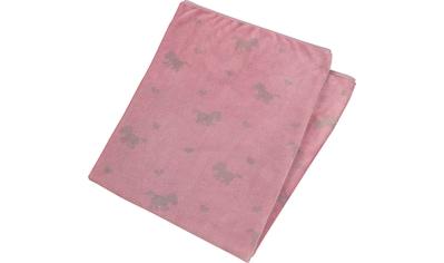 Sterntaler® Babydecke »Pauline«, aus weichem Teddyflausch kaufen