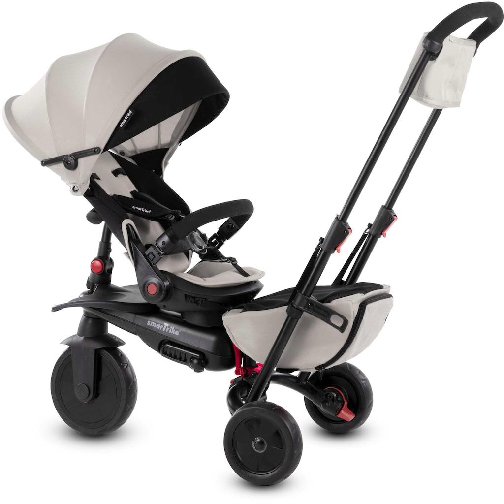 smarTrike® Dreirad »smarTfold 700S beige/schwarz«, mit schwenkbarem Sitz