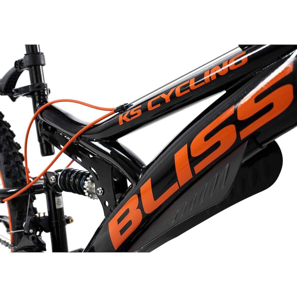 KS Cycling Mountainbike »Bliss«, 18 Gang, Shimano, Tourney Schaltwerk, Kettenschaltung