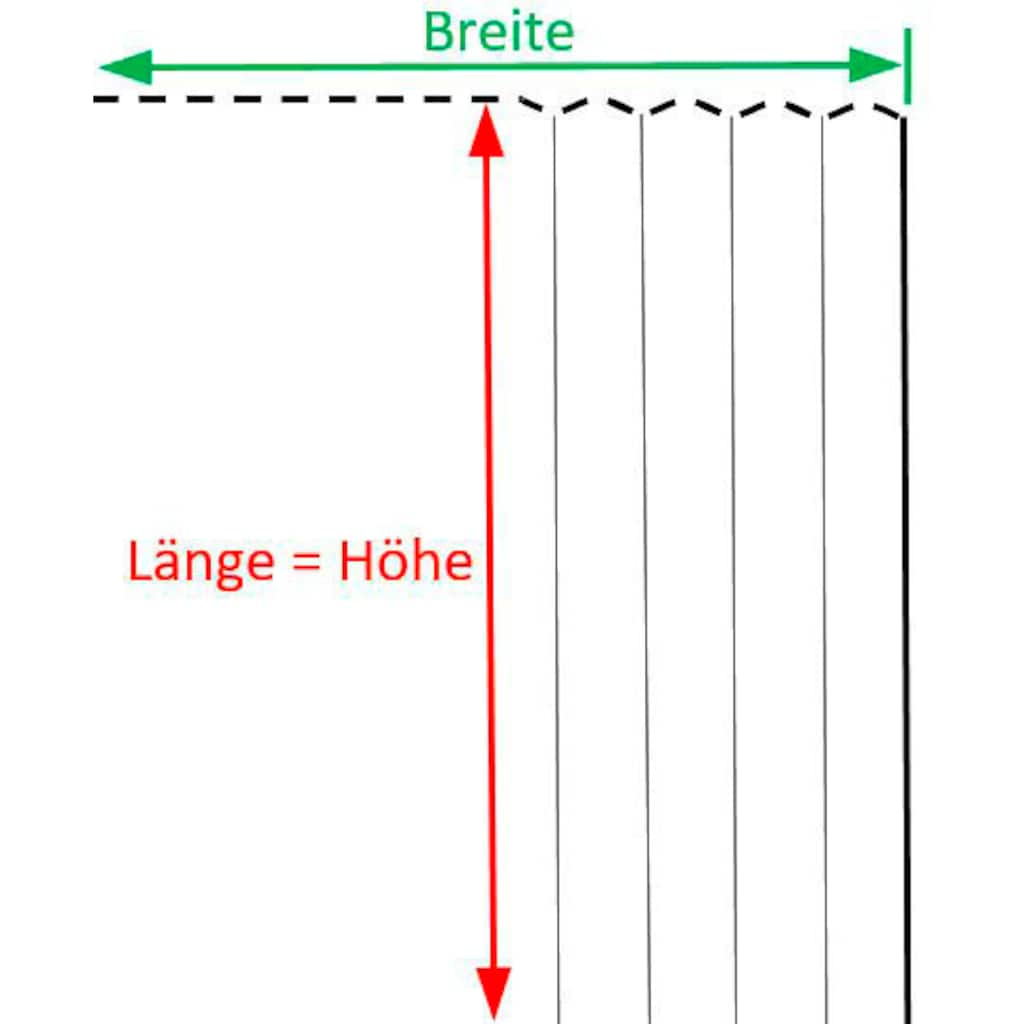 VHG Gardine nach Maß »Leon«, Verdunkelung, Dim Out, Deko, Breite 145 cm