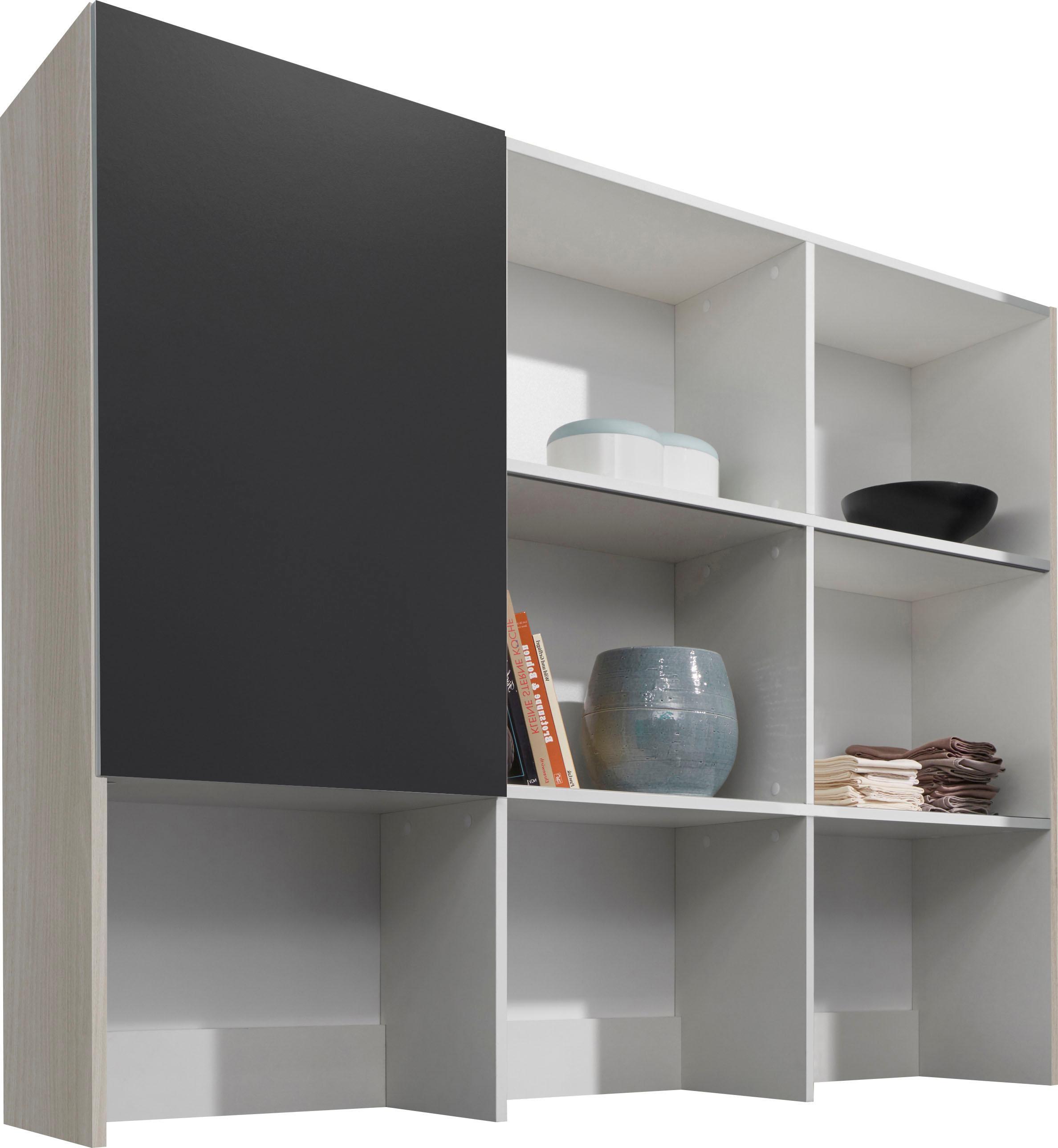 OPTIFIT Aufsatzregal Faro grau Zubehör für Kleiderschränke Möbel Möbelaufsätze