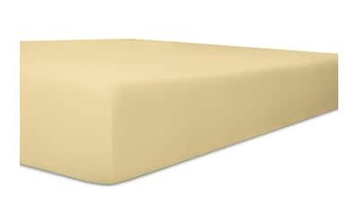 Kneer Spannbettlaken »Organic-Cotton-Stretch«, aus Bio-Baumwolle mit Elasthan kaufen