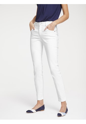 Push - up Jeans Aleria mit Used - Effekt kaufen