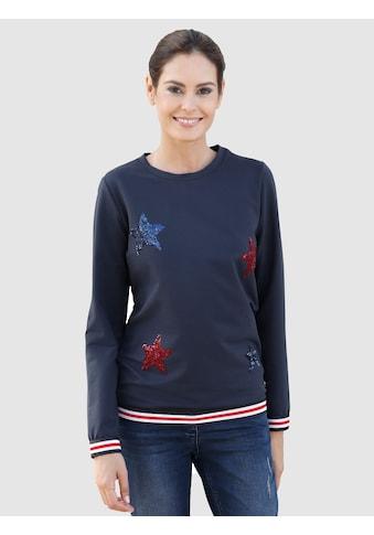Laura Kent Sweatshirt mit Paillettensternen kaufen