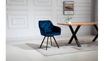 SalesFever Armlehnstuhl, 360° Drehplatte unter der Sitzfläche kaufen