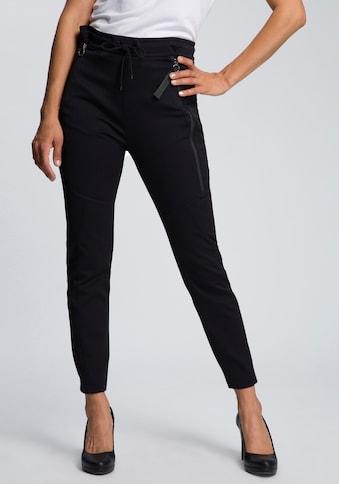 MAC Jogger Pants »Future-Stripe«, Bequeme Form mit edlem Nadelstreien kaufen
