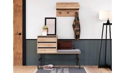 INOSIGN Garderoben-Set »Selune«, (Set, 2 St.), aus Holzwerkstoff und Metall kaufen