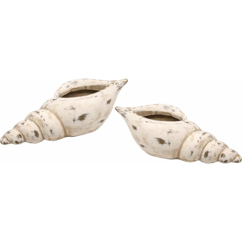 I.GE.A. Dekoschale »Keramik-Schale Muschel«