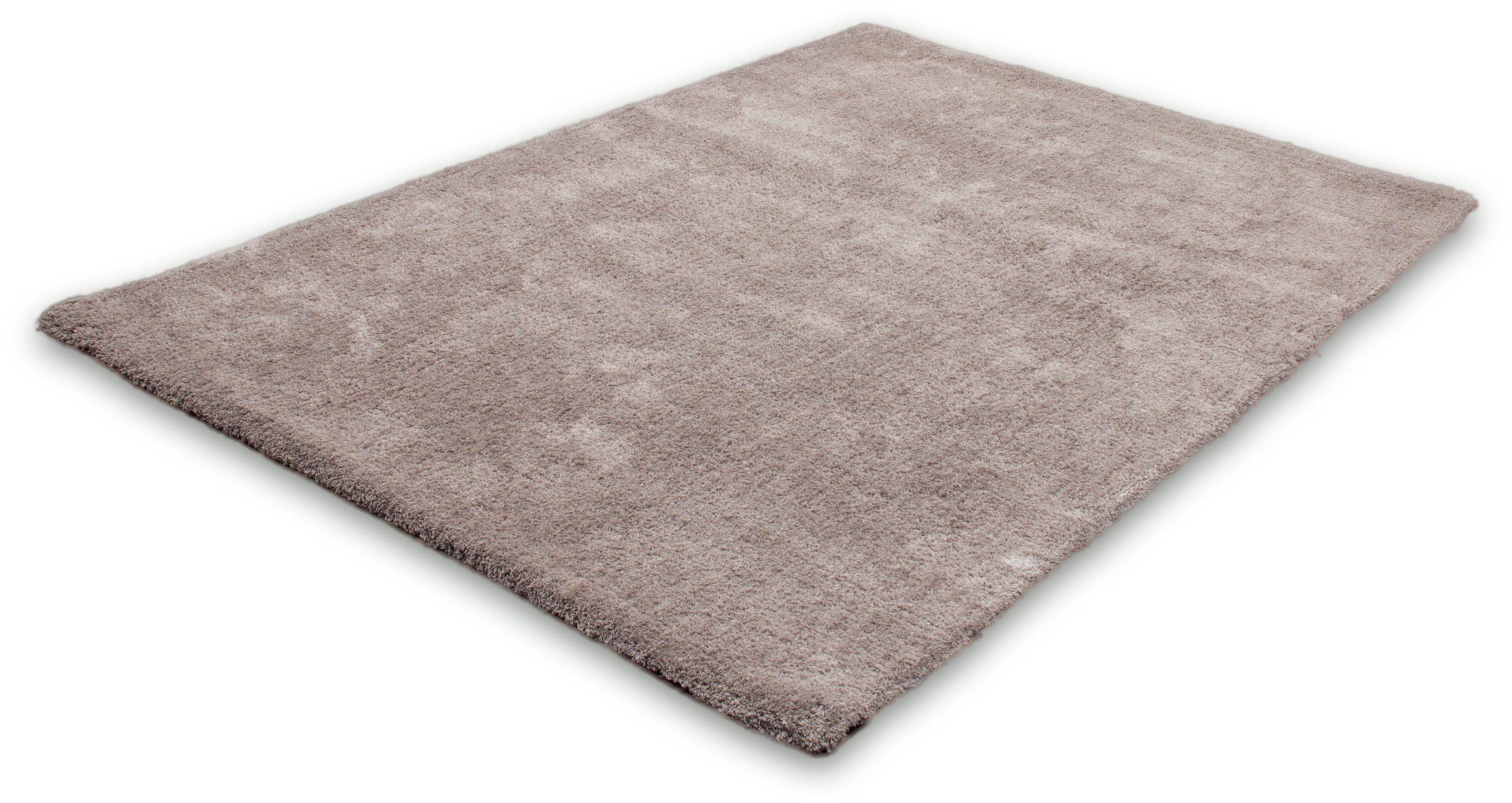 Hochflor-Teppich Velvet LALEE rechteckig Höhe 25 mm handgetuftet