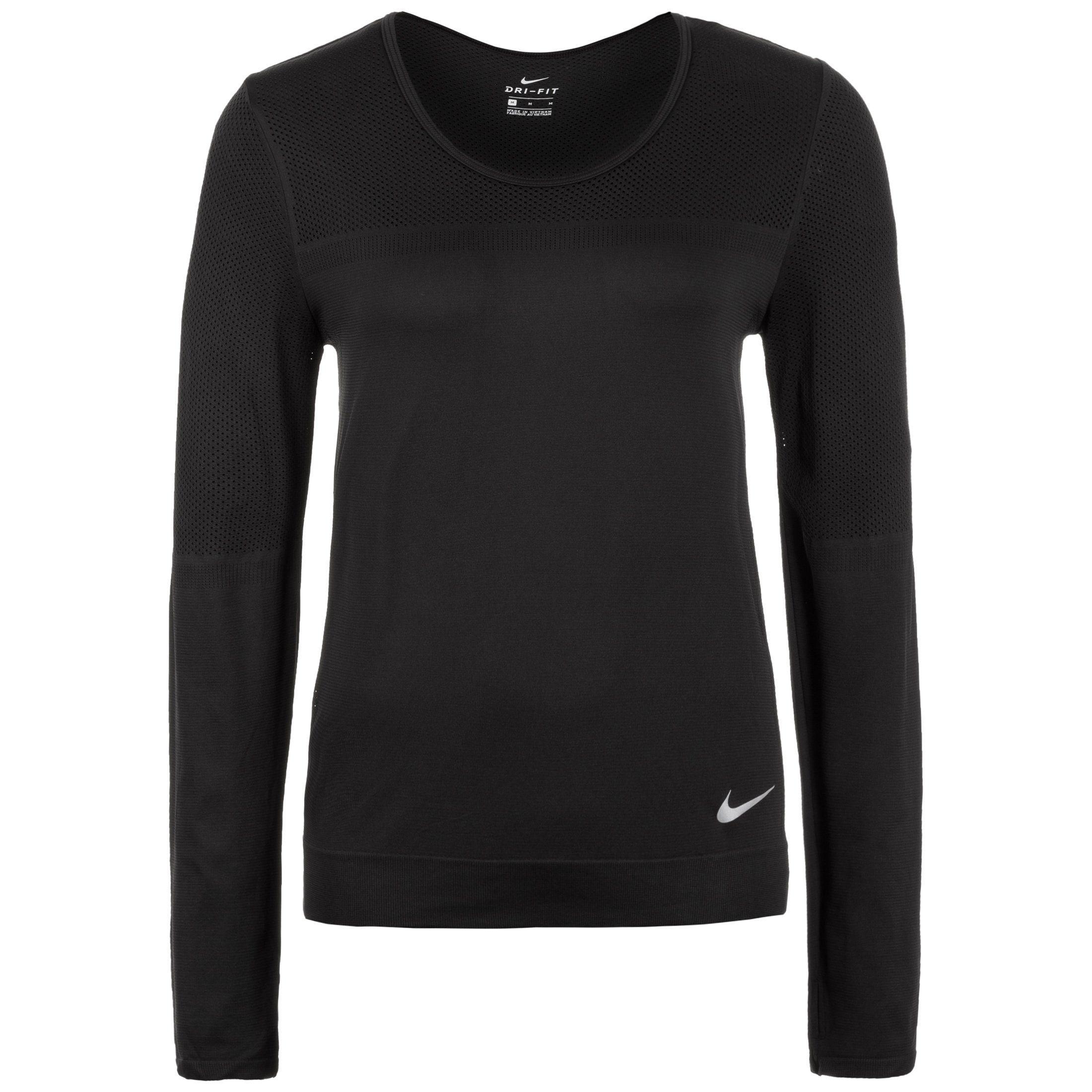 Nike Trainingspullover Infinite | Sportbekleidung > Sportwesten > Steppwesten | Schwarz | Nike