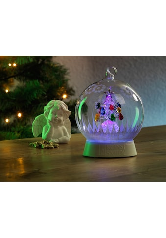 KONSTSMIDE LED Dekolicht, LED-Modul, 1 St., Farbwechsler, Glaskugel Weihnachtsbaum kaufen