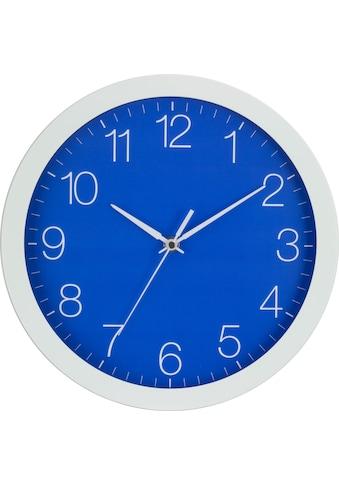 EUROTIME Wanduhr »Trend Alu Dunkelblau, 86138-00-3« kaufen